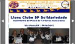 Lions Clube SP Solidariedade Posse Novos Associados