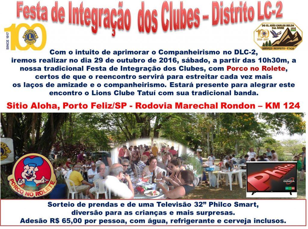 Festa de Integração dos Clubes – Distrito LC2