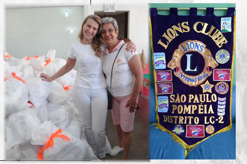 LC SP Pompéia faz doações ao Instituto Casa do Caminho Irmãos Samaritanos