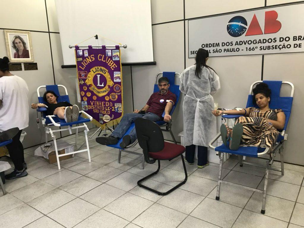 campanha de doacao de sangue do lc vinhedo foto (1)